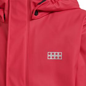 LEGO wear Jordan 729 Chaqueta para lluvia Niños, red